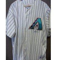 Signed Johnson, Randy (Arizona Diamondbacks) Replica Majestic Arizona Diamondbacks Jersey size 2XL autographed
