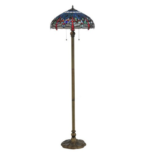 tiffany-hanginghead-dragonfly-floor-lamp