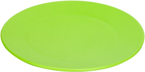 Green Eats 4 Pack Snack Plate, Green