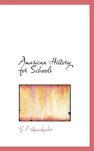 American History for Schools