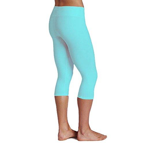 ILoveSIA Women's Tights Capri Yoga Workout Leggings Pants