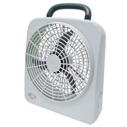Roadpro 12-Volt/ Battery 10 Portable Fan Rp8000