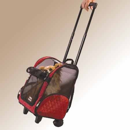 Pet Wheel Around Small/Red front-42522