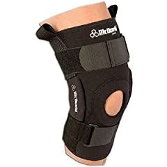 Buy McDavid Pro Stabilizer Hinged Knee Brace Team Package Black Medium - McDavid 428T-BL-M by McDavid