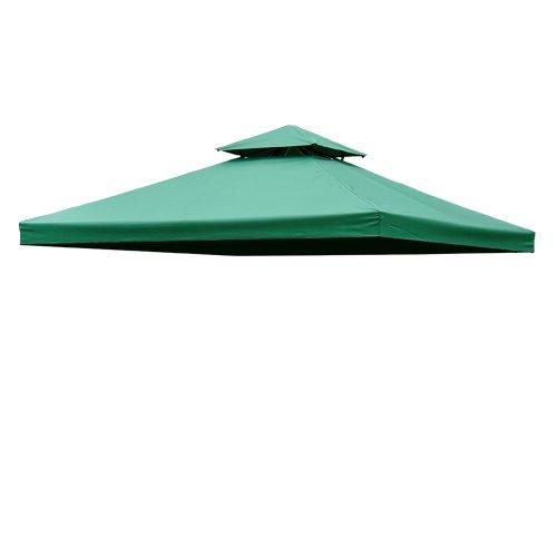 Toile de toit rechange pour pavillon tonnelle tente 3x3m for Prix pavillon neuf