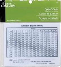 Dritz Longarm Quilter's Proportion Scale-
