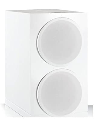 Waterfall Audio Highforce 3 EVO Dual 8-Inch 300-Watt Subwoofer with 12 or 24db Setting Crossover and Variable Phase Setting (White) by Waterfall