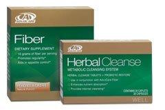 AdvoCare Herbal Cleanse & Fiber PEACHES & CREAM kit | Herbal Cleanse 20 Capsules & Fiber 10 Pouches