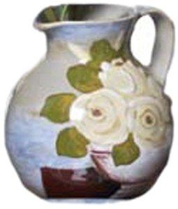 Amazon.com - Abigails Fiori Magnolia Pitcher - Decorative Pitchers