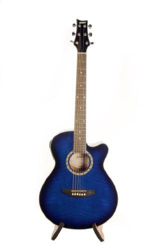 Chollo: Ashton SL29CEQTBB Guitarra acústica eléctrica de color azul