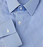 Autograph Slim Fit Pure Cotton Striped Shirt