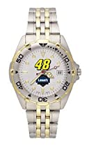 Jimmie Johnson Mens All Star Sterling Silver Watch