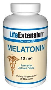 Life Extension Melatonin | 10 mg 60 capsules ( Multi-Pack)