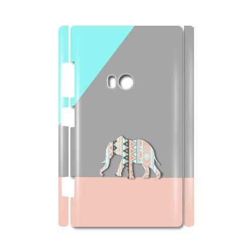 Elephant Simple Style Custom 100% Plastic 3D Case For Nokia Lumia 920