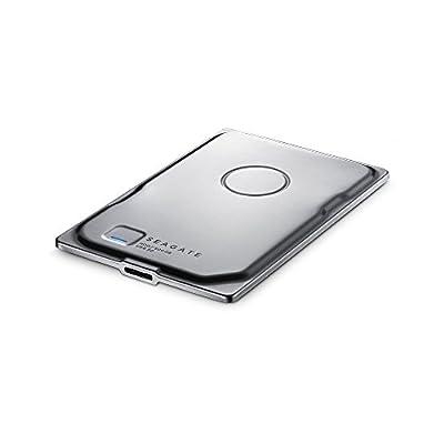Seagate Seven 500GB Portable External Hard Drive (Silver) STDZ5004000