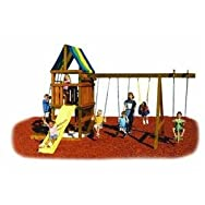 Swing N Slide NE5007 Alpine Custom Ready-To-Build Swing Set