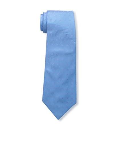 Kiton Men's Polka Dot Tie, Blue