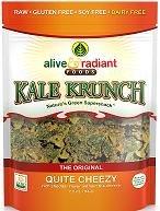 Kale Krunch Quite Cheezy - 2.2 oz - CASE OF 12