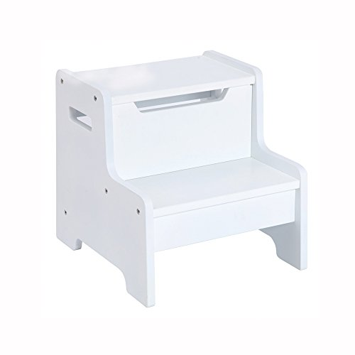 Guidecraft Expressions Step Stool White G87106 Hardware