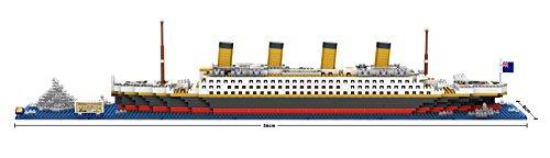The Titanic Model Micro Block Build Set - LOZ NanoBlocks Micro Diamond DIY Educational Toys