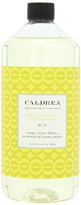 Caldrea Hand Soap Refill - Sea Salt Neroli, 32-Ounce Bottle