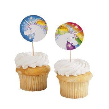Unicorn-Cupcake-Cake-Picks