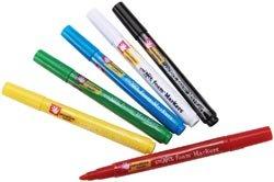 Fibre Craft Foam Markers 6/Pkg Multi Color 0817159E; 3 Items/Order