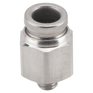 Male Connector, M5, 5/32 Or 4Mm, 316Ss