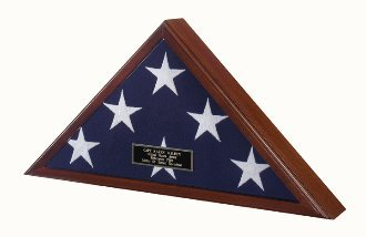 Best Seller -Flag Display Case American Made!