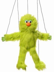 Silly Educational Products - Green Silly Monster Marionette - 16 Tall From Head To Toe from Silly