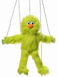 Green Monster Marionette String Puppet