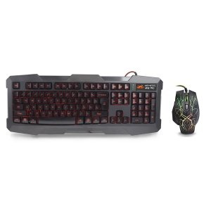 Sumvision Nemesis Kane Pro Edition Led Gaming Keyboard And Mouse Usb Combo Pack
