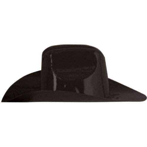 Miniature Plastic Cowboy Hat (black) Party Accessory  (1 count)