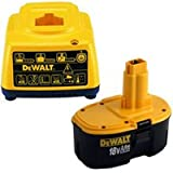 DEWALT DE9503 18V 2.6Ah NiMh Battery Plus DE9116 Charger