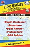 Search : Lake Barkley North Section Fishing Map (Kentucky Lake Fishing Series, L112)