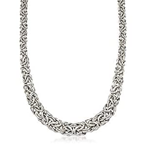 Silver Byzantine Necklace - Compare Prices, Reviews and Buy at