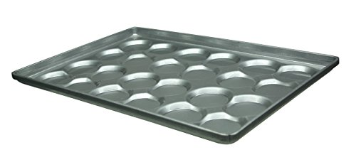 "Magna Industries 14700 Hamburger Bun Cluster Pan, 18 X 26"", Silver (Pack Of 6) front-286112"