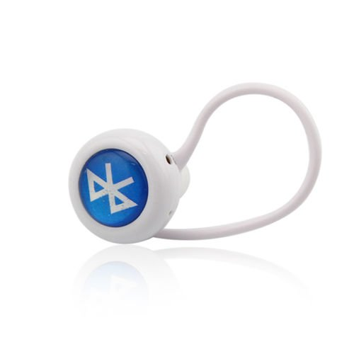 Smrroy Er 5Sd White Bluetooth Earbud Headphone Wireless Stereo For Mobile Phone Laptop Tablet