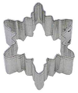 Rm Snowflake #2 Metal Cookie Cutter For Holiday Baking / Christmas Party Favors / Scrapbooking Cake Stencil - Mini 1.5""