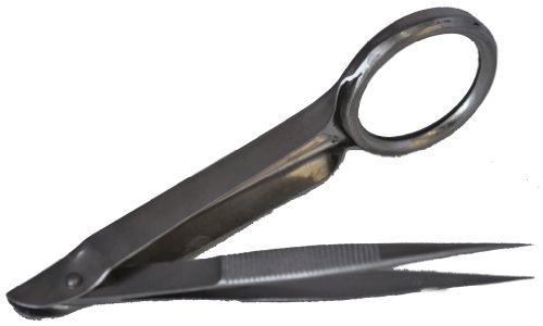 Creative Notions Magnified Tweezer Silver front-434897