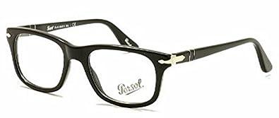 Persol occhiali da vista uomo 3029 95 nero calibro 52 for Amazon occhiali da vista