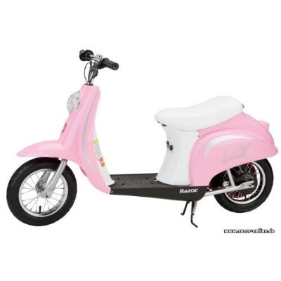 Razor Pocket Mod Miniature Euro 24V Electric Retro Scooter, Pink | 15130610 (Razor Electric Mod Scooter compare prices)