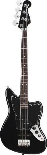 Squier by Fender Vintage Modified Jaguar Special Short Scale Bass, Black