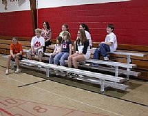 Tip N Roll Bleachers by Barco Products