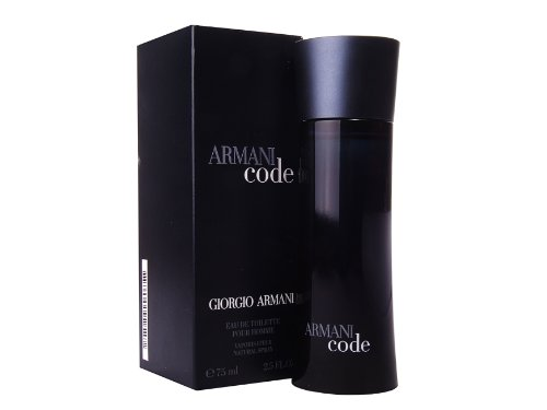 Giorgio Armani Code Eau De Toilette Spray for Men 75ml