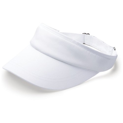 New Plain Sports Visors (Comes In Many Different Colors), White