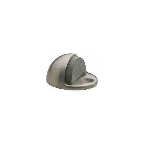 Baldwin 4000.150 Floor Type Half Dome Door Bumper, Satin Nickel