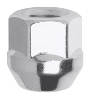 Gorilla Automotive 40008 Acorn Open End Bulge Chrome Lug Nuts (14mm x 2.0 Thread Size)