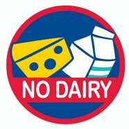 Allergy Alert Stickers - No Dairy - Set of 20 from Allergy Alert