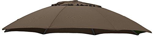 Genial Sun Garden Replacement Cover For Cantilever Easy Sun Parasol Polypropylene  375 Cm, B058 Brown Flecked